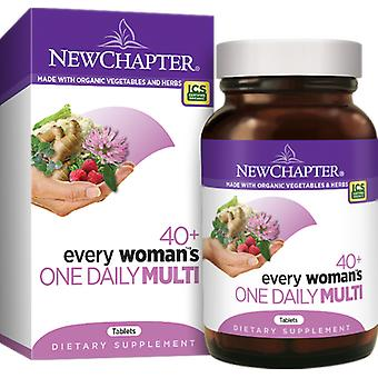 New Chapter Every Woman's One Daily 40+ Tablets 48 Ct