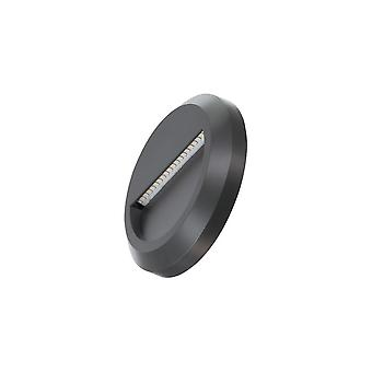 Timeguard Round 1.3W LED Step Light, Dark Grey
