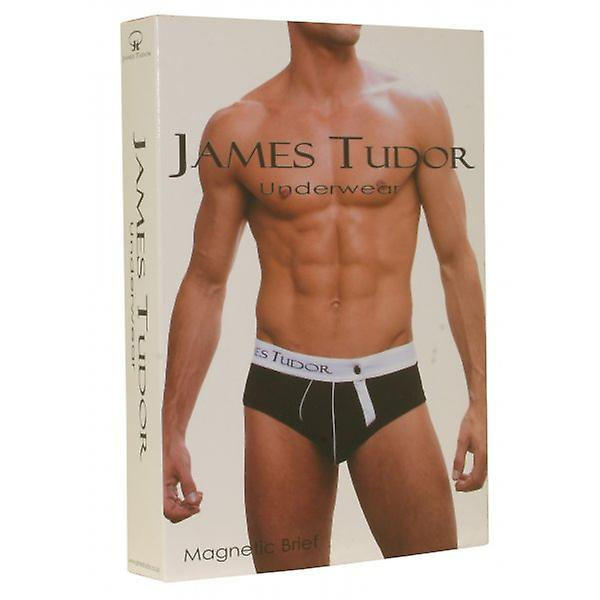 James Tudor Magnetic Brief, Black