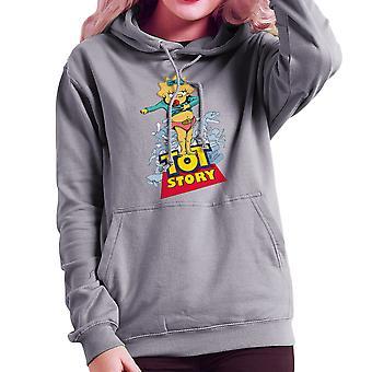 Baby Power Maggie Tot Story Women's Hooded Sweatshirt