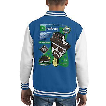 Gelato Icenberg Heisenberg Breaking Varsity Jacket di Bad Kid