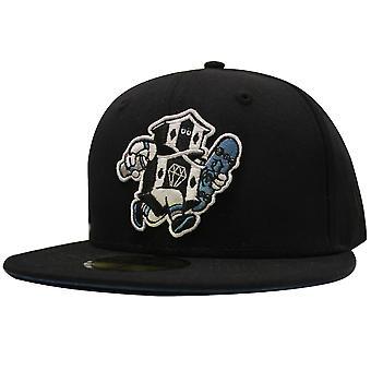 REBEL8 Civil Servant New Era Fitted Baseball Cap Black