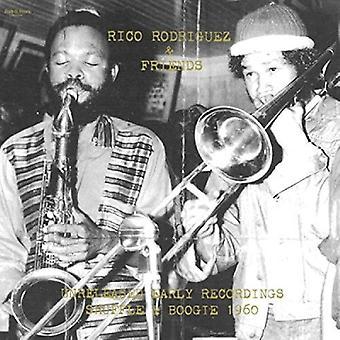 Rodriguez, Rico / venner - uudgivet tidlige indspilninger: Shuffle & Boogie 1960 [CD] USA import