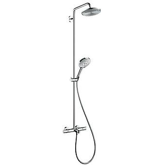Hansgrohe Raindance Air Showerpipe thermostat seen Select240 bathtub 27117000