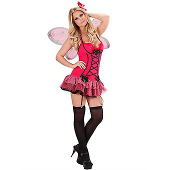 Hot Pink Butterfly (Dress Wings Haircomb)