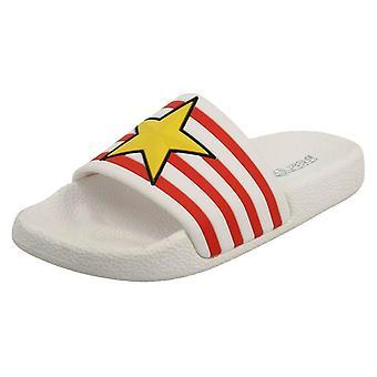 Girls Reflex Mule Sandals H0251