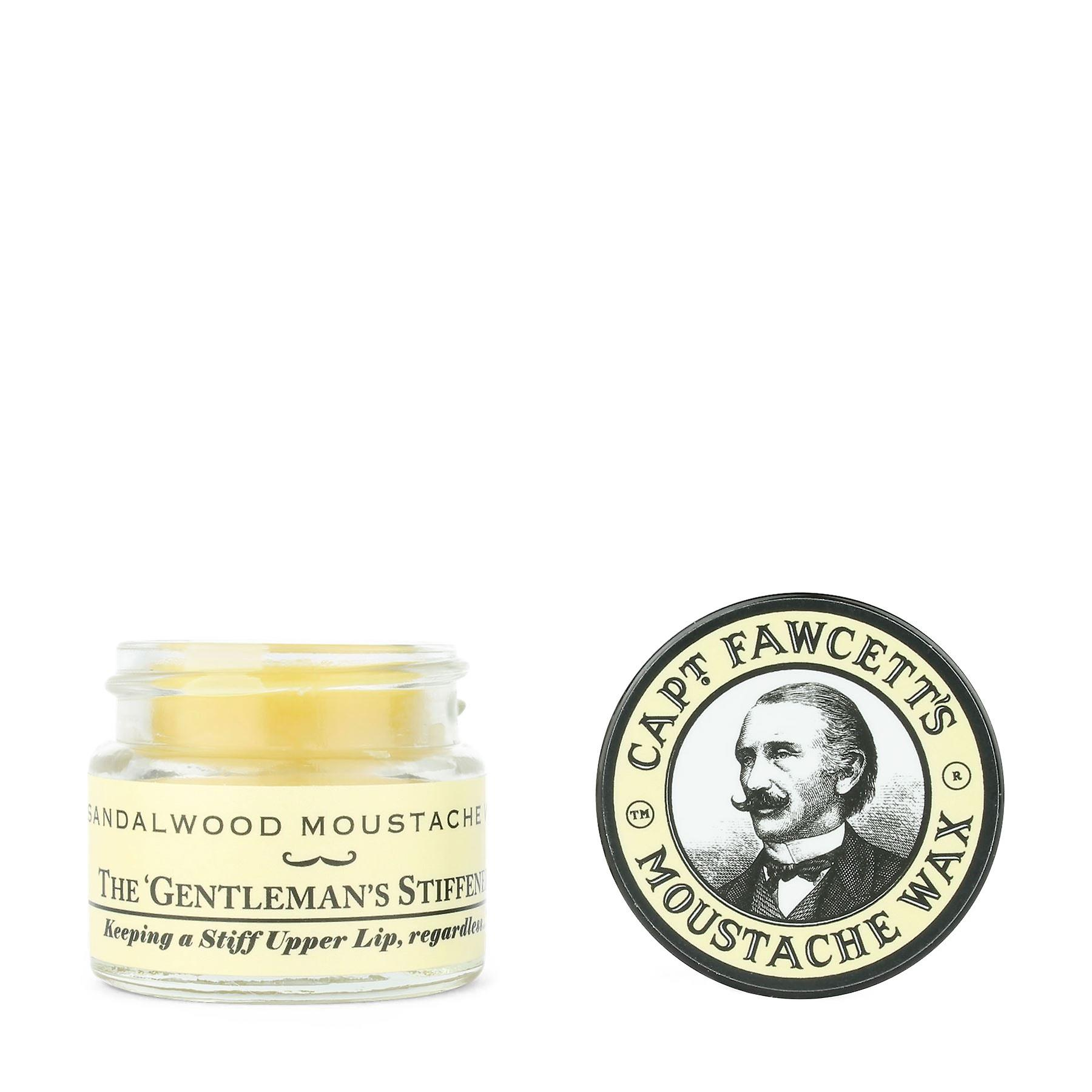 Captain Fawcett Sandalwood Moustache Wax 15ml