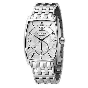 Thomas Earnshaw Es-8009-22 Robinson Silver Stainless Steel Automatic Men's Watch