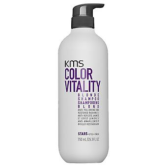 KMS ColorVitality Blond Shampoo (300 ml)