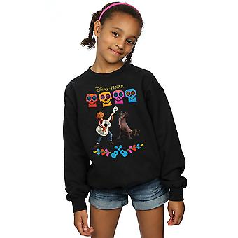 Disney Girls Coco Miguel Logo Sweatshirt