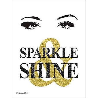 Sparkle & Shine Poster Print by Susan Ball (12 x 16)