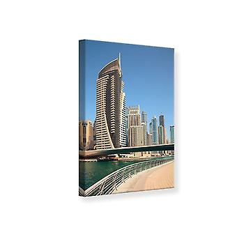 Lona impresa a pie en Dubai