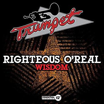 Righteous O'Real - Wisdom [CD] USA import