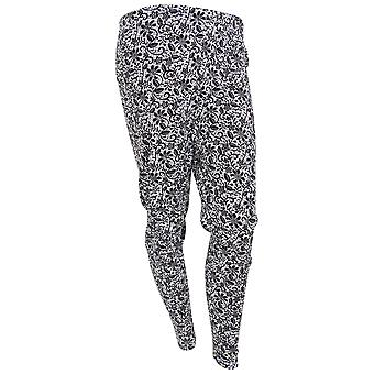 Womens/Ladies Thermal Floral Mosaic Pattern Long Janes