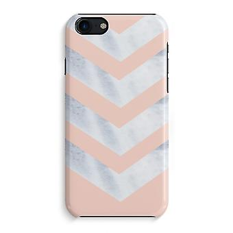 iPhone 7 Full Print Case (Glossy) - Marble arrows