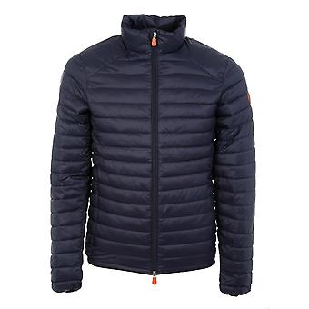 Save the duck men's D3243MGIGA600009 Blau polyamide Quilted Jacket