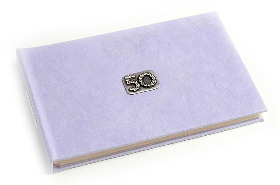 50 Celebration Lilac Pocket Photo Album