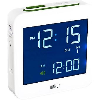 Brown alarm clock BNC009WH-RC-66019