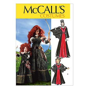 Misses'/Children's/Girls' Costumes-S-M-L-XL -*SEWING PATTERN*