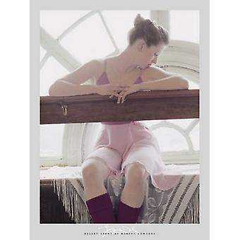 Tänzer durch die Fenster Poster Print von Harvey Edwards (16 x 20)