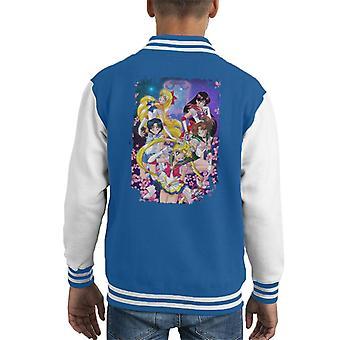 Sailor Moon Super Gruppe Kid Varsity Jacket