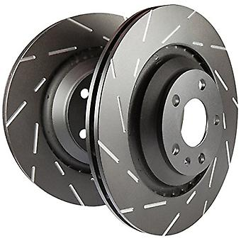 EBC Brakes USR7629 EBC USR Series Sport Slotted Rotor Front 11.0 in. Dia. Set of Two EBC USR Series Sport Slotted Rotor