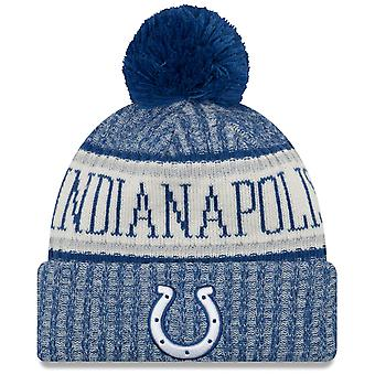 New era NFL sideline 2018 Bobble Hat - Indianapolis Colts