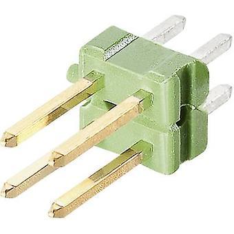 TE conectividad Pin tira (estándar) no. de filas: 2 pernos por fila: PC 825440-3 1 3
