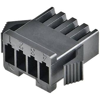 JST SMP-04V-BC Housing For SM Series Number of pins: 4 Nominal current (details): 3 A