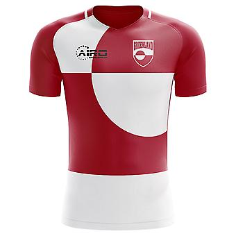 قميص كرة القدم مفهوم الوطن غرينلاند عام 2018-2019
