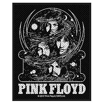 Pink Floyd Cosmic Faces Sew-On Cloth Patch 100Mm X 50Mm