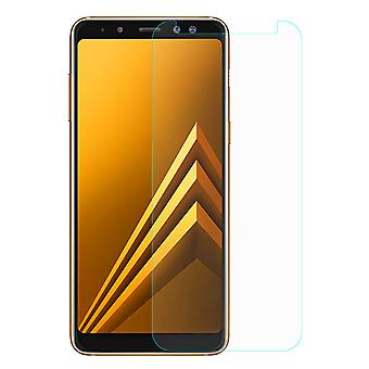 Samsung Galaxy A8 plus 2018 tank protection protection glass armoured glass film real 9 H glass tempered glass
