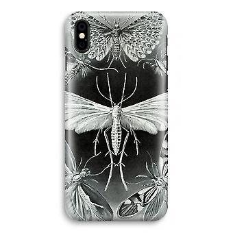 iPhone XS Full Print Case (Glossy) - Haeckel Tineida