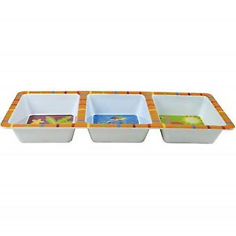 Sun and Surf Sectional Serving Tray Westland Giftware