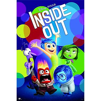Inside Out Group Poster Poster Print