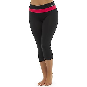 Ladies Tom Franken zwei Ton Sport Fitness-Studio 3/4 Hosen Mode Sportswear