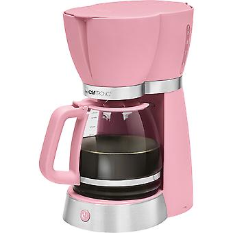 15 coffee maker Clatronic KA 3689 pink cups