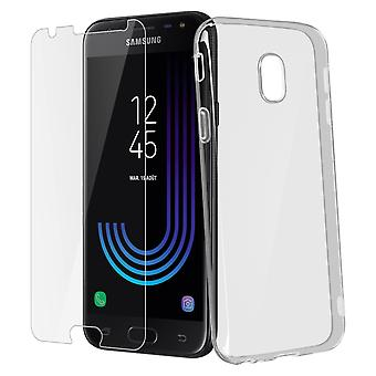 Back case + Screen Protector Tempered Glass Clear Galaxy J3 2017 - 4smarts