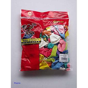 Globos Luftballons sortiert nr8 Tasche 100pcs