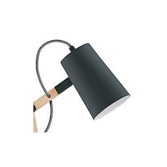 Eglo TORONA Wooden Black Desk Lamp