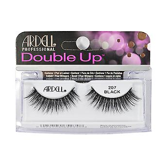 Ardell Double Up False Eyelashes Black 207