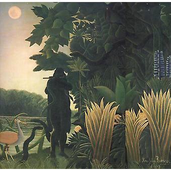 ساحر الأفعى، هنري روسو، 50 × 50 سم