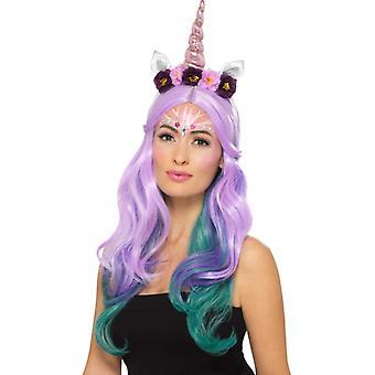 Make up FX Unicorn set makeup face color Carnival accessory Unicorn Kit