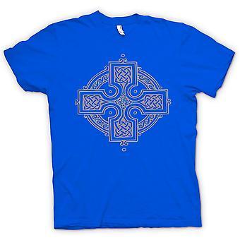 Mens T-shirt - Celtic Cross 2 - Tattoo Design