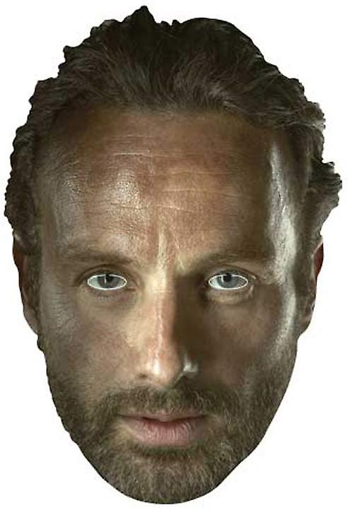 Rick Grimes (Andrew Lincoln) The Walking Dead Party Card Face Mask