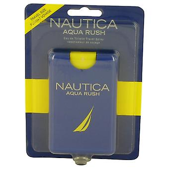 Nautica Aqua Rush by Nautica Eau De Toilette Travel Spray .67 oz / 20 ml (Men)