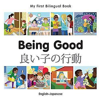 Min första tvåspråkiga bok - att vara bra - svenska-japanska