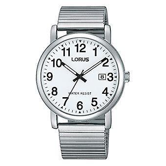 Lorus - Orologio per uomo, da polso, classico, al quarzo, in acciaio inox RG859CX9