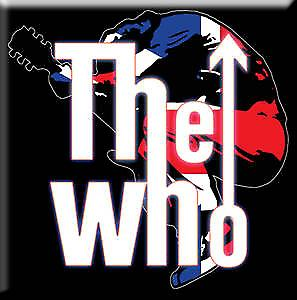 The Who Guitar Leap fridge magnet
