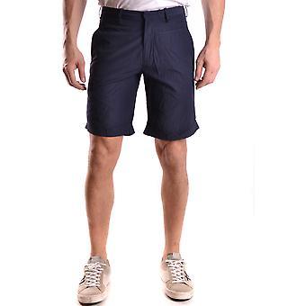 Shorts de algodão de Neil Barrett Blue